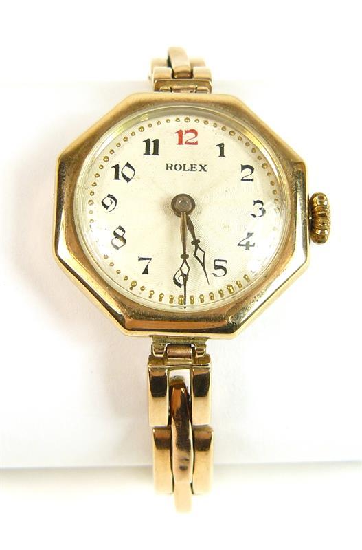 Zlaté Náramkové Hodinky Rolex ba474a8b33a