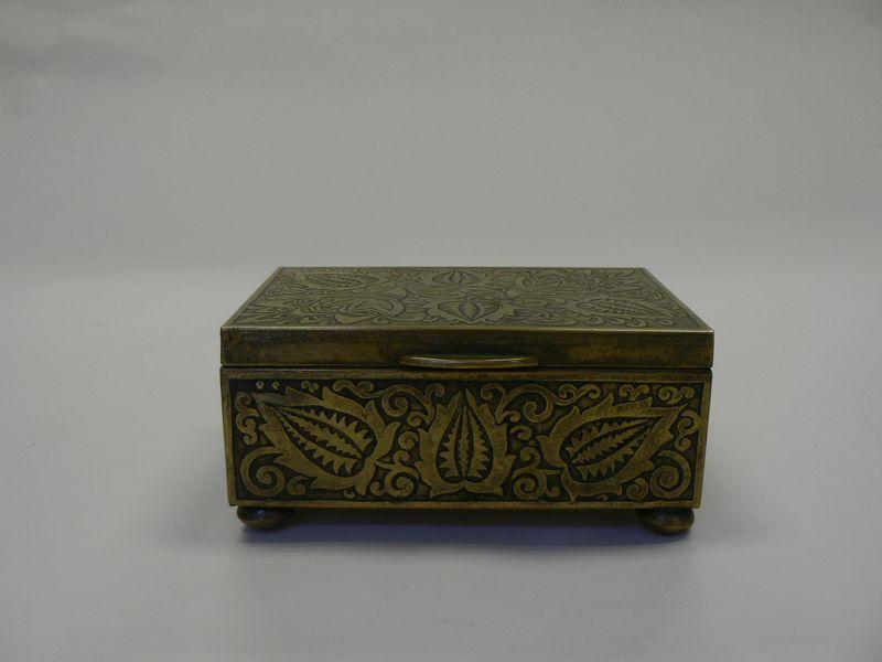 6c4d9e6fa Ozdobná Krabička Art Deco | eAntik - Starožitnosti